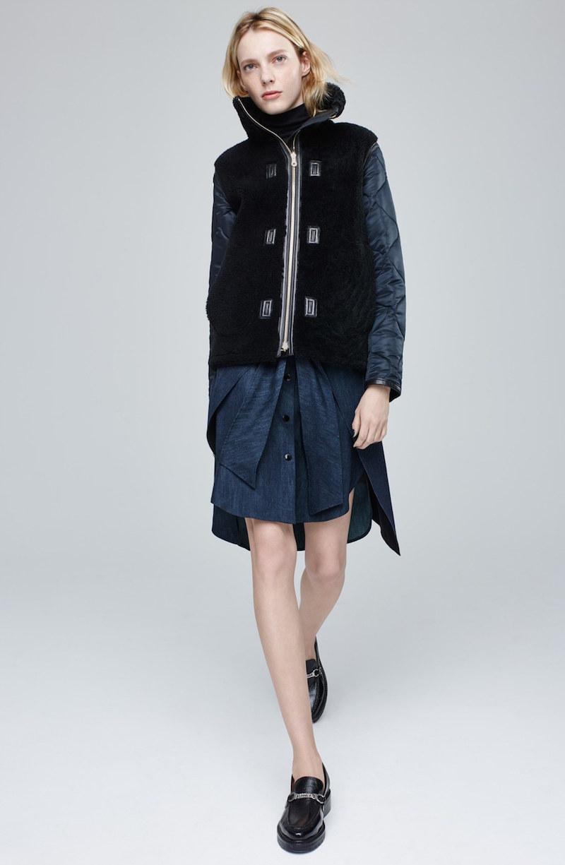 rag & bone Nadine Denim Skirt