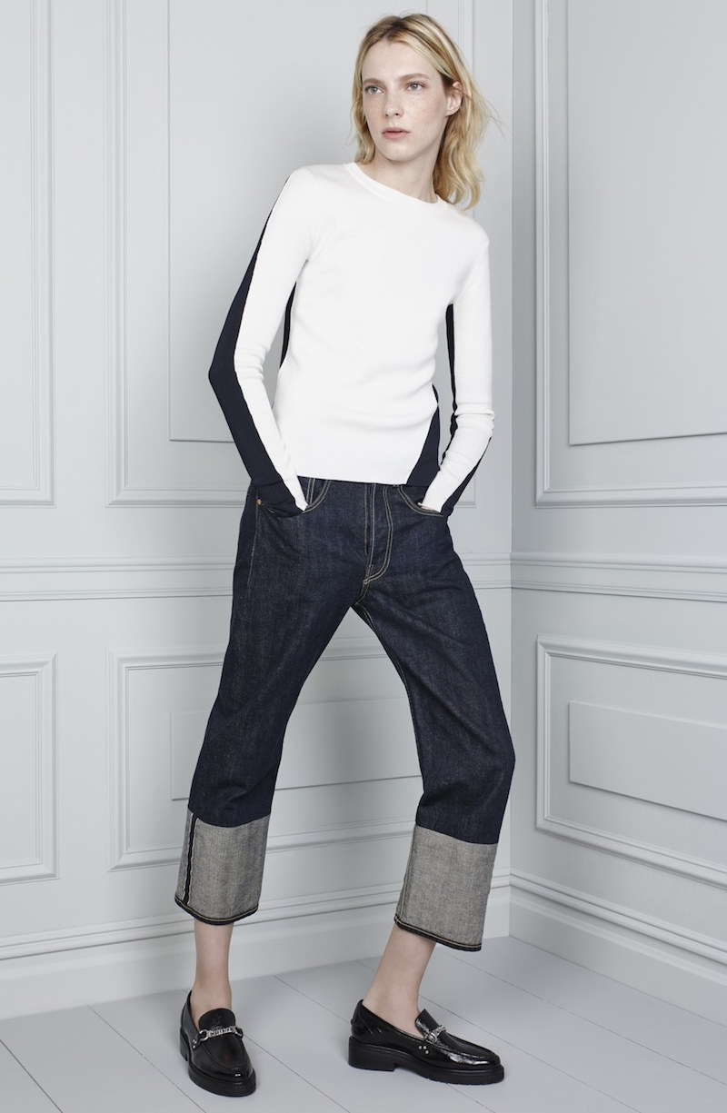rag & bone RBW16 High Rise Crop Jeans