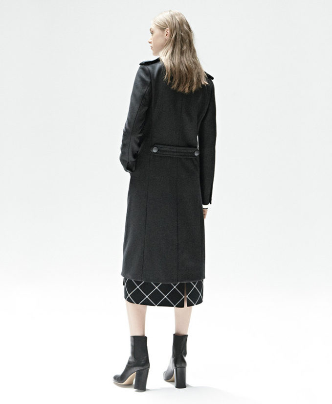 rag & bone Sabina Plaid Midi Skirt