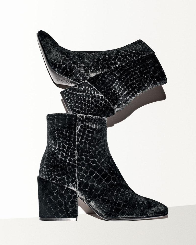 Ash Erika Velvet Ankle Boot