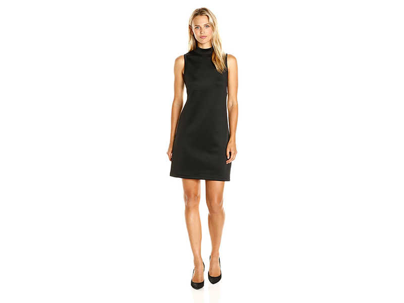 BCBGeneration A-Line Turtleneck Dress