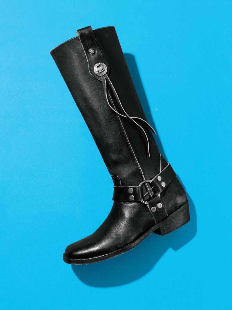 Balenciaga Knee High Riding Boot