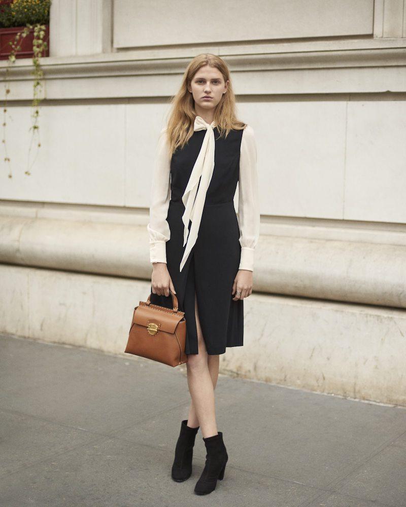 Barneys New York Slit-Front Sleeveless Dress