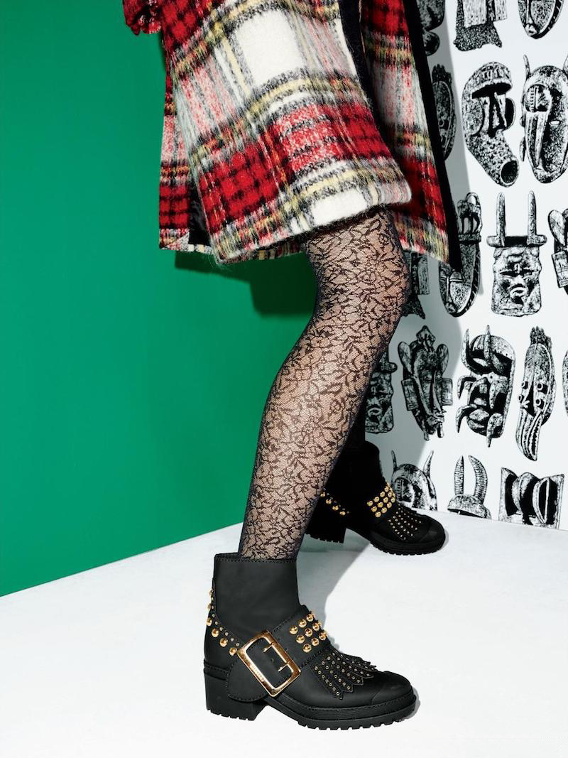 Burberry Whitchester Studded Leather Buckle Boots