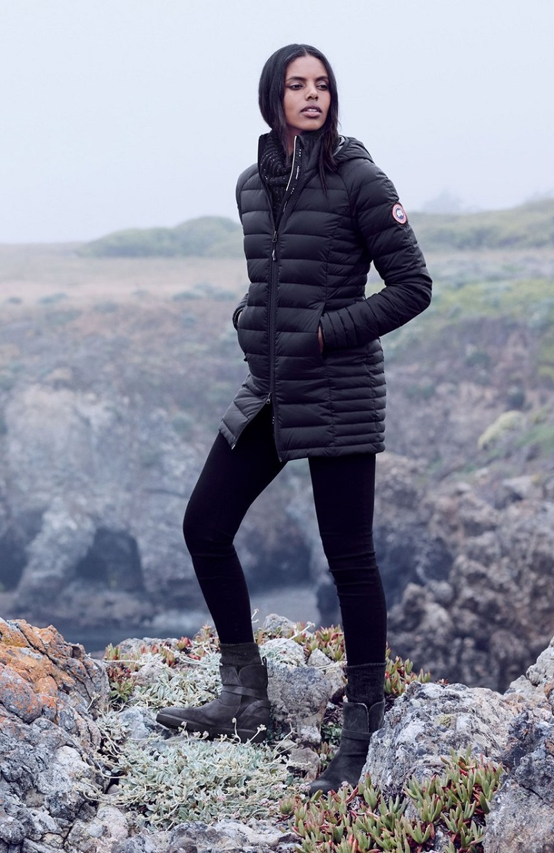 Canada Goose Brookvale Hooded Quilted Down Coat