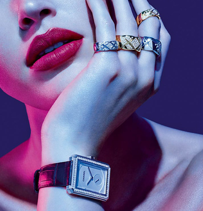 Chanel Coco Crush Jewellery Collection