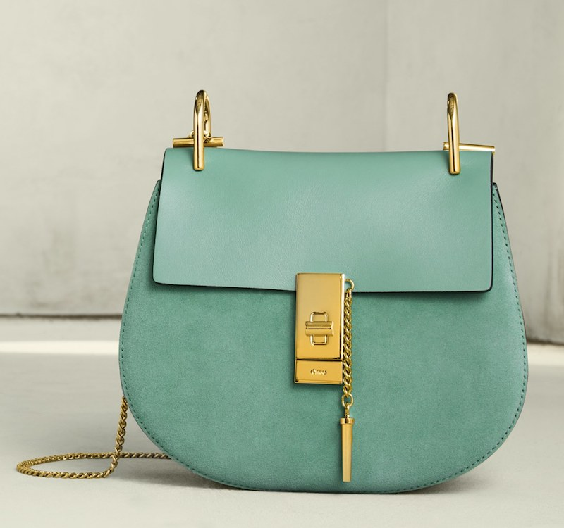 Chloé Mini Drew Leather Crossbody Bag