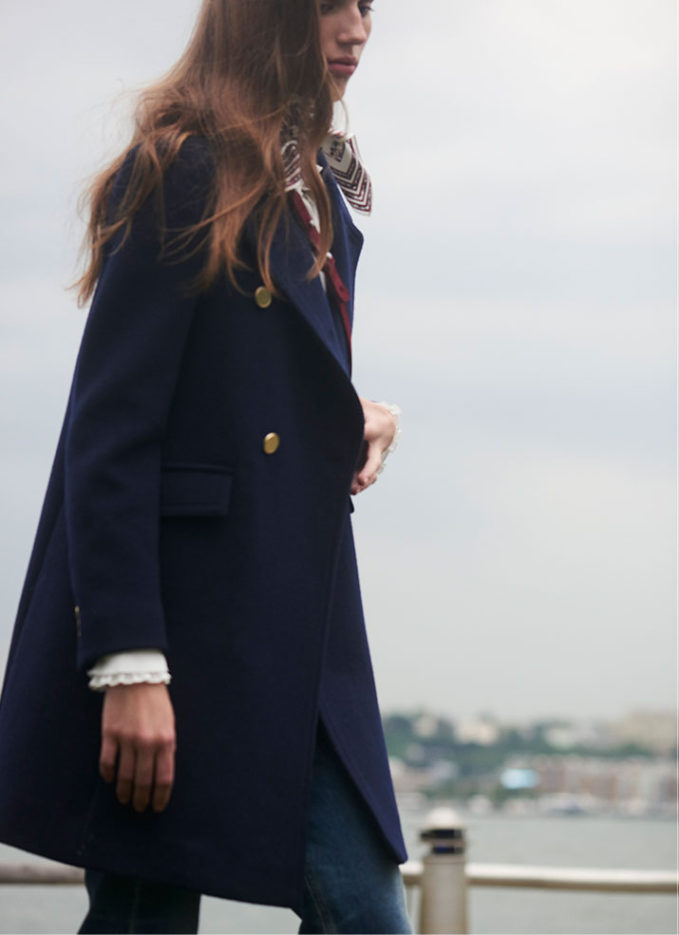 Club Monaco Santal Coat