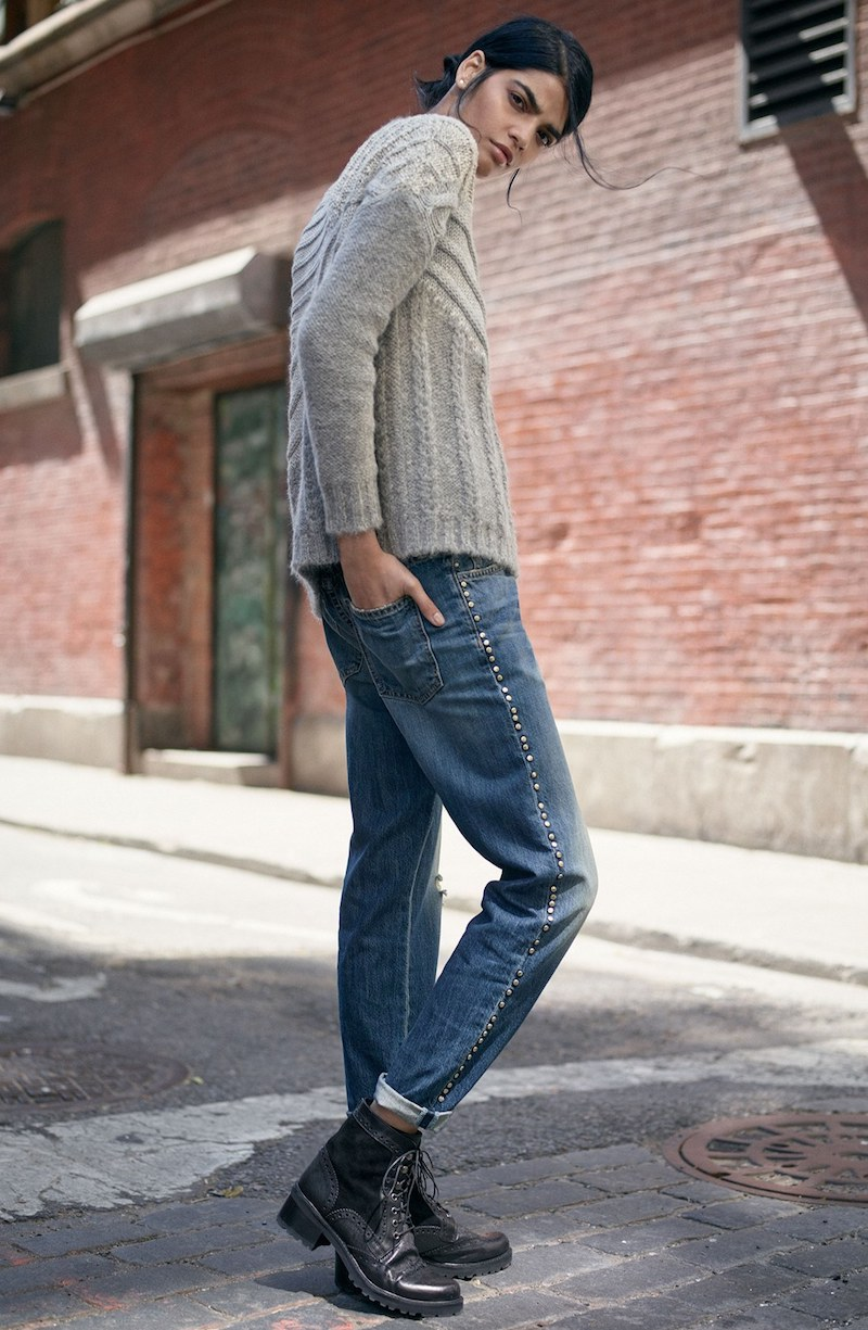 Current Elliott The Fling High Rise Boyfriend Jeans