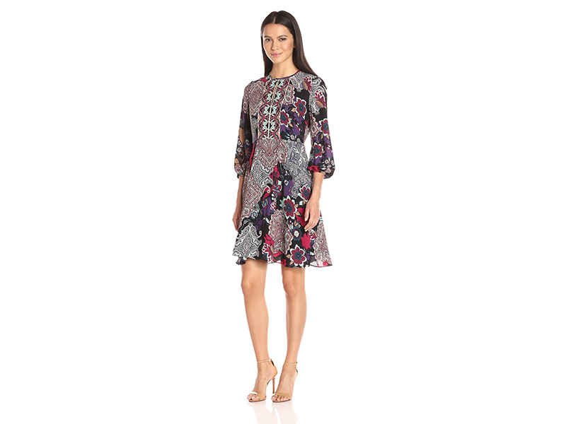 Donna Morgan Printed Dress