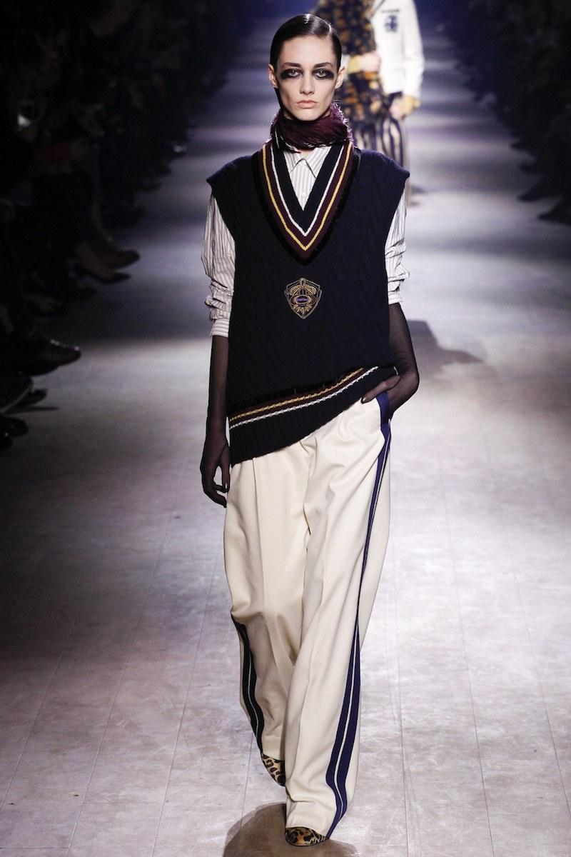 Dries Van Noten Patch Appliquéd Wool-Cashmere Vest