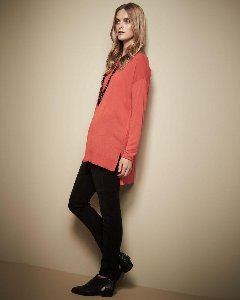 Eileen Fisher Long-Sleeve Luxe Merino Tunic