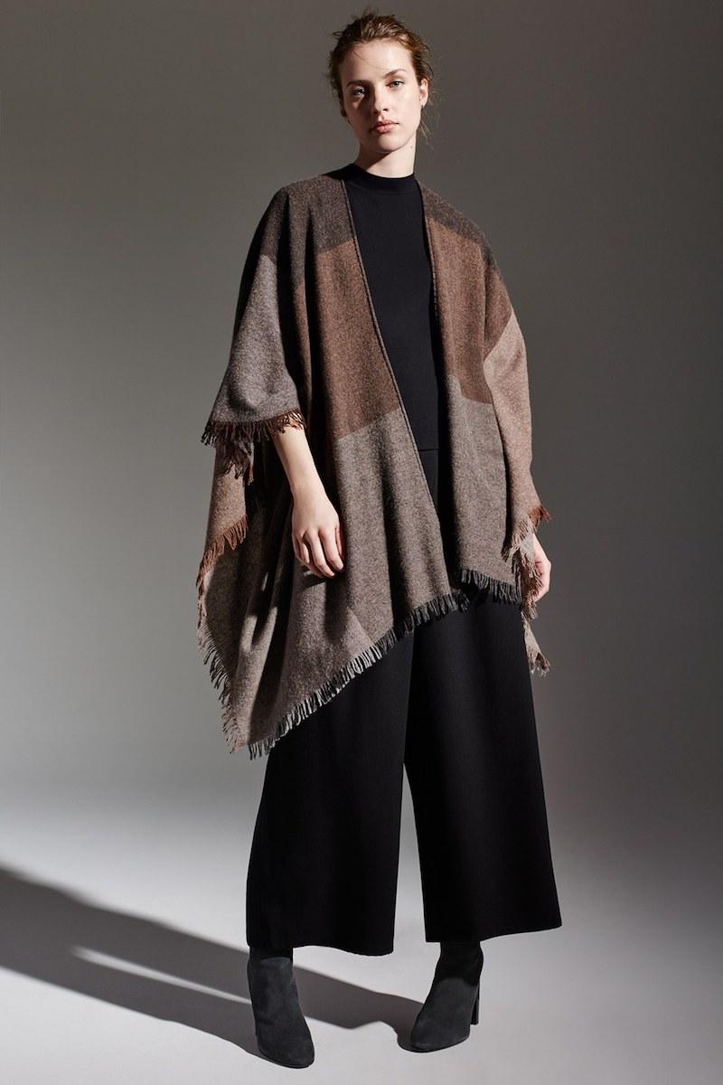 Eileen Fisher Viaggio Wool Blend Serape