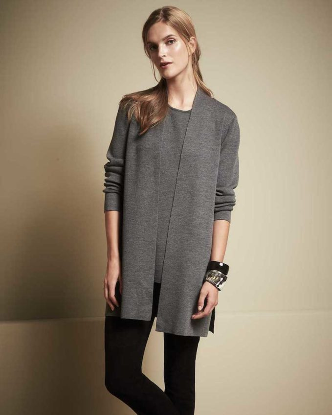 Eileen Fisher Washable Crepe Long Tank
