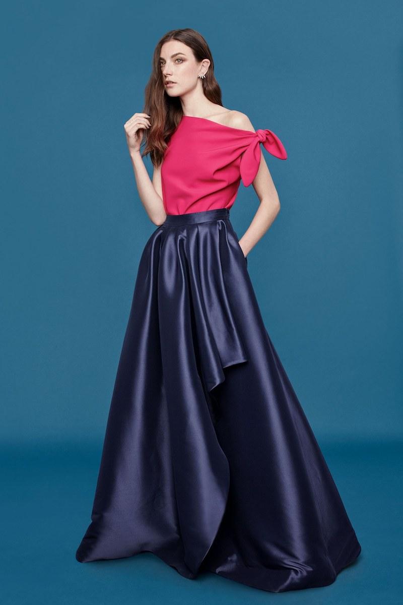 Eliza J Cascade Ball Skirt