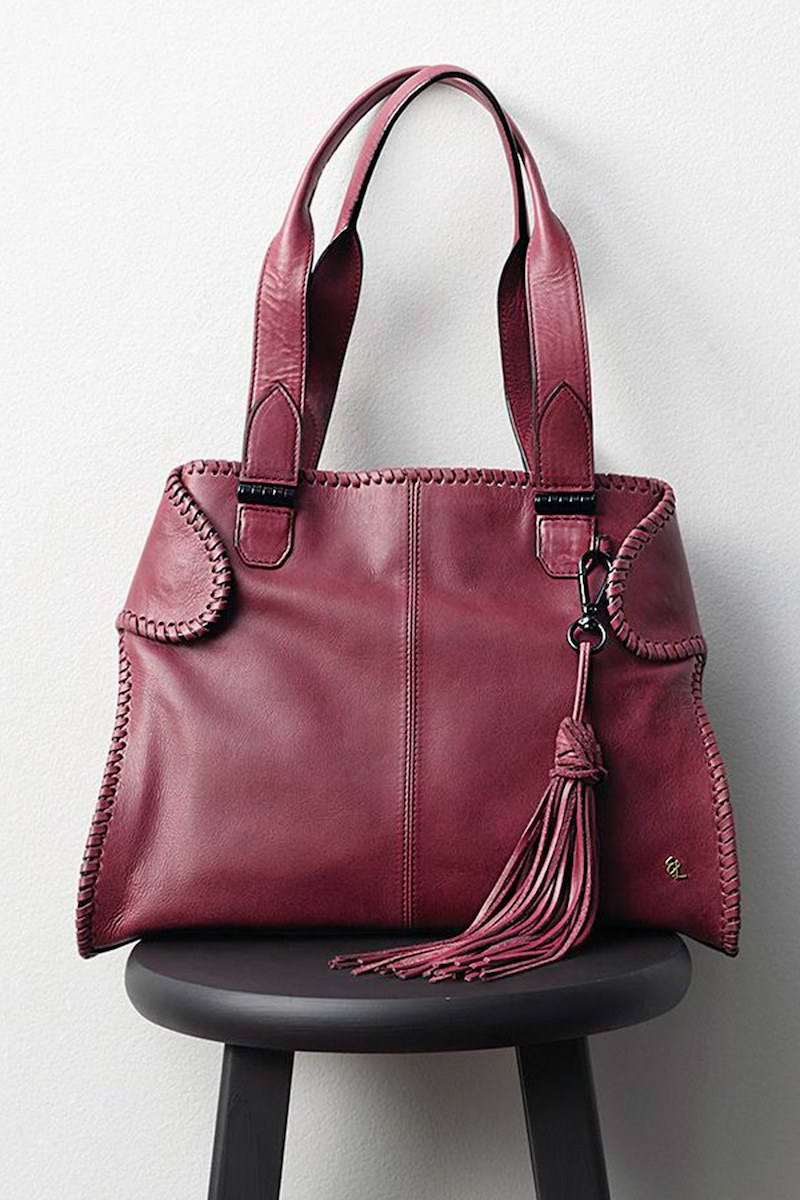 Elliott Lucca Gisele Leather Satchel