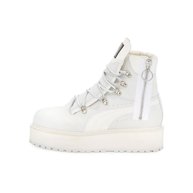 Fenty Puma by Rihanna Leather Platform Sneaker Boot
