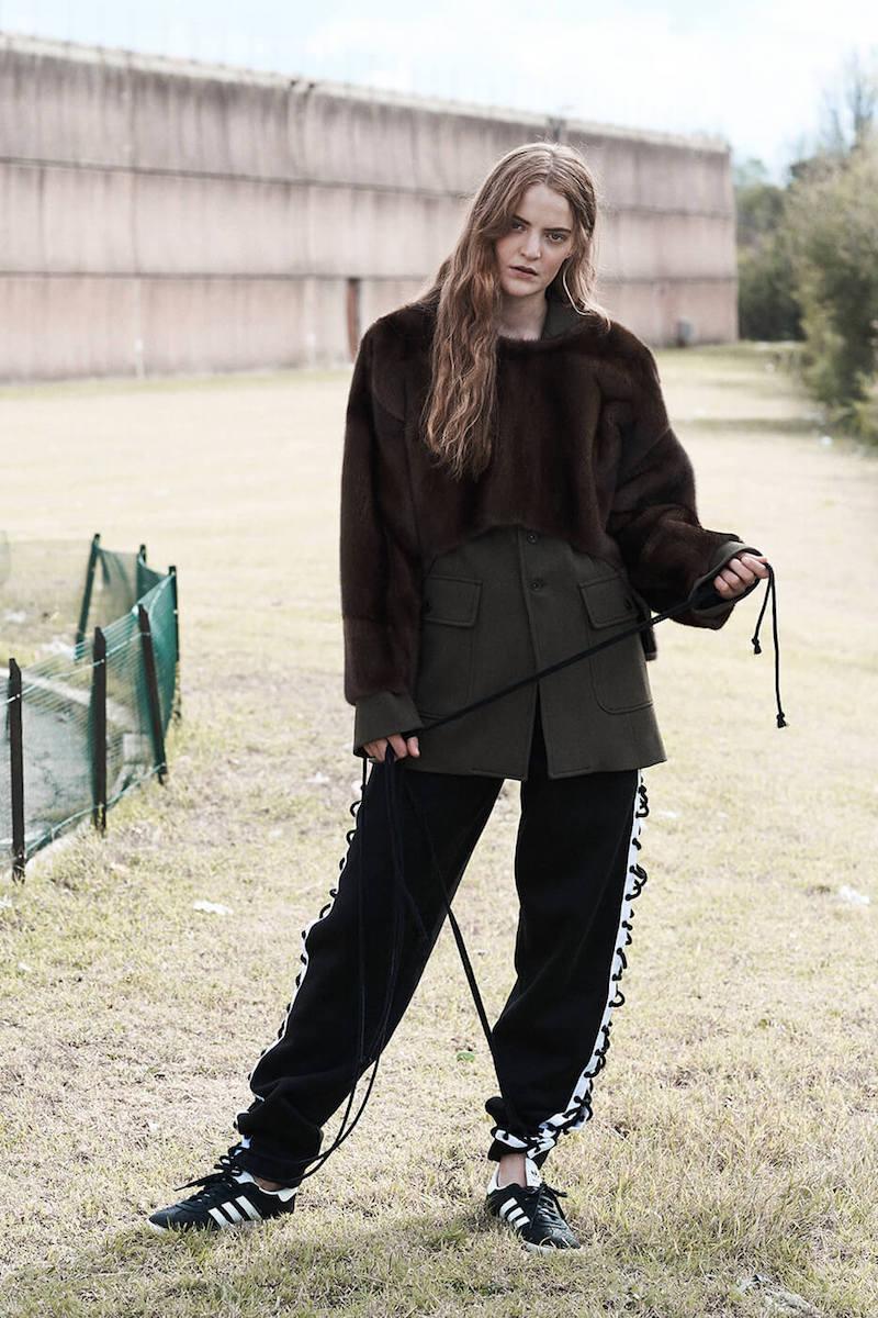 Fenty x Puma Lace-Up Cotton Sweatpants