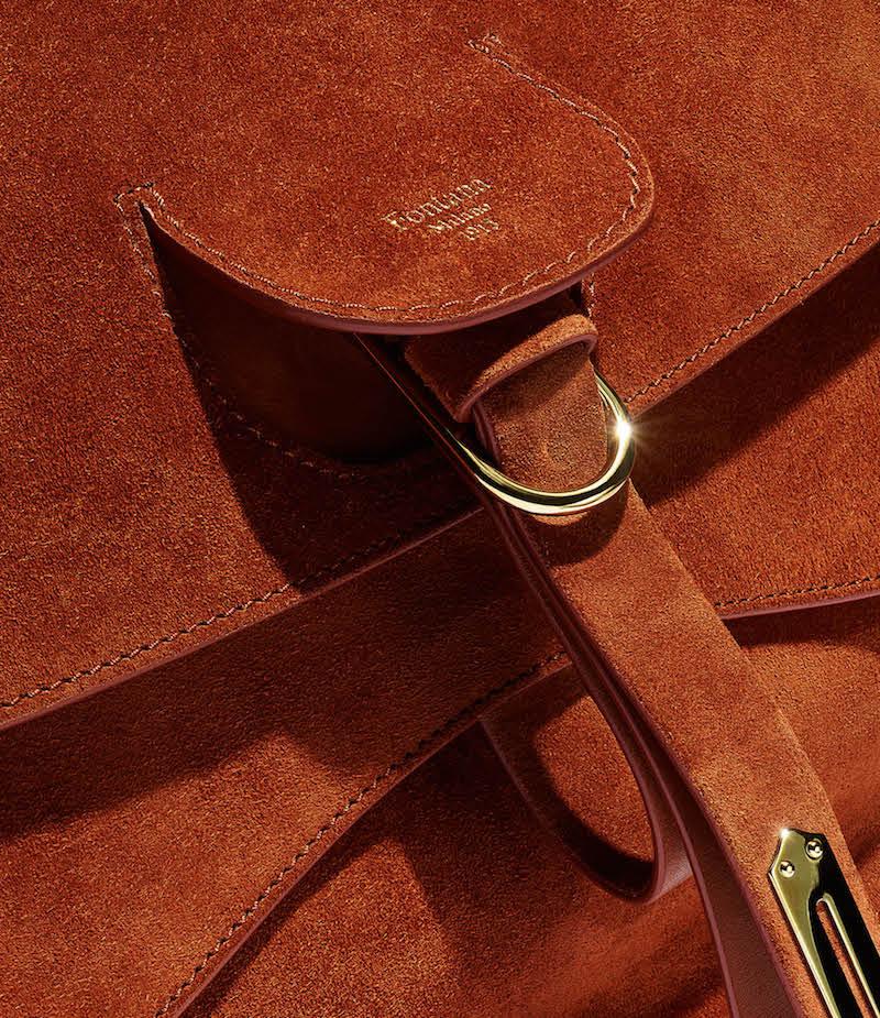 Fontana Milano 1915 Wight Medium Saddle Hobo Bag