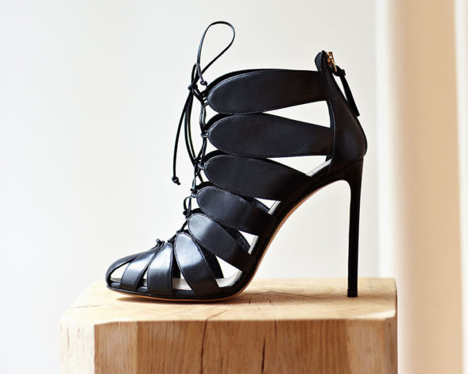 Francesco Russo Cutaway Leather Ankle Boots