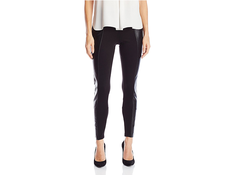 GUESS Dorri Ponte Faux Leather Legging