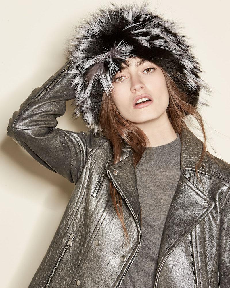 Gigi Burris Narcissa Fox Fur Cap