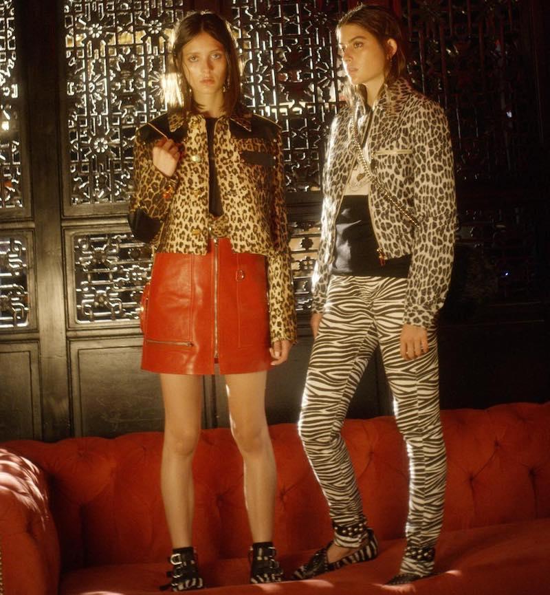 Givenchy Leopard Printed Grain de Poudre Jacket