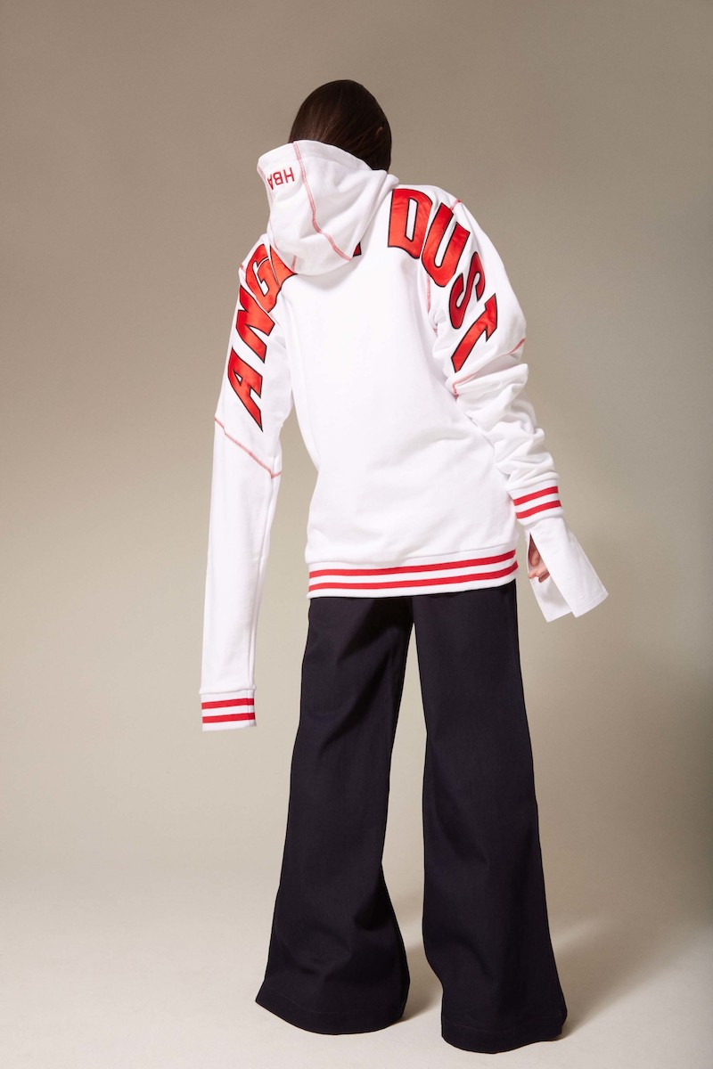 Hood by Air White Angel Dust Hoodie