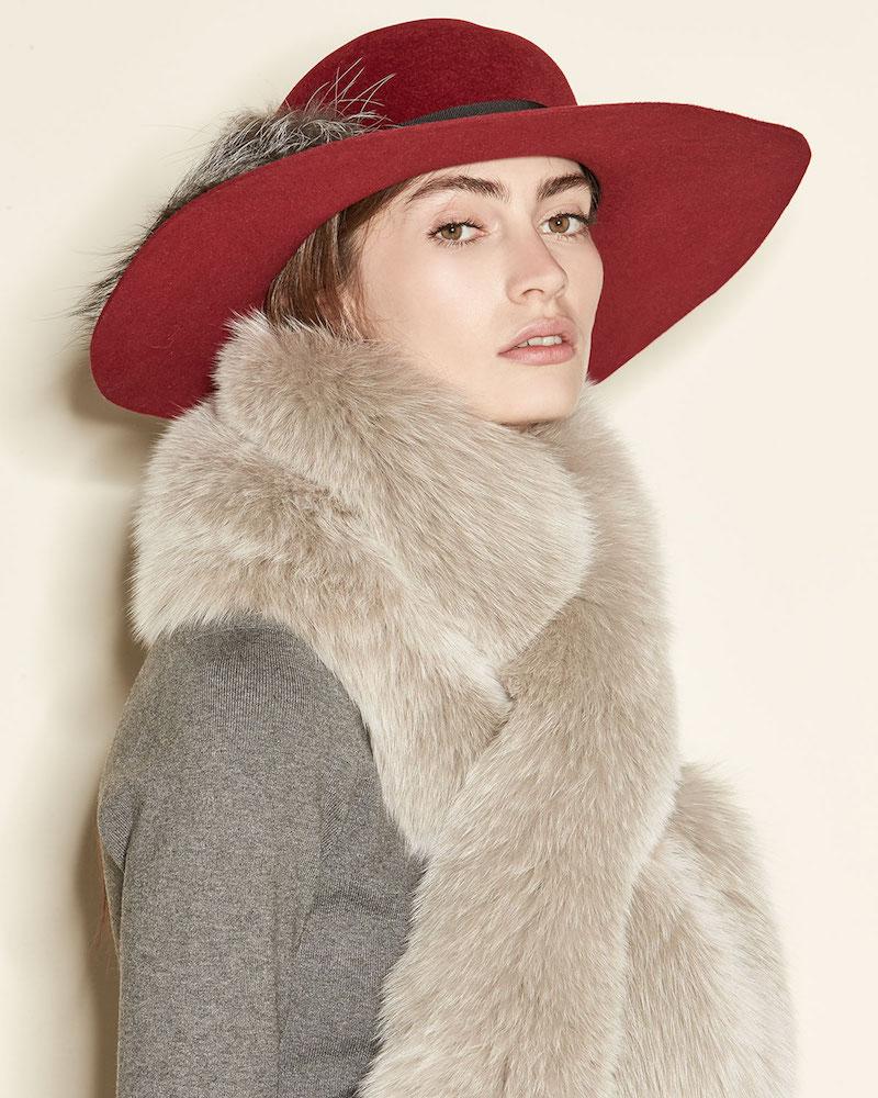 Il Borgo Fox-Fur Pull-Through Scarf