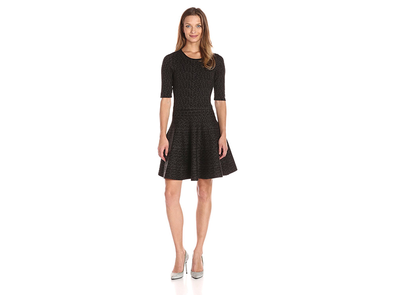 Ivanka Trump Cable Sweater Dress