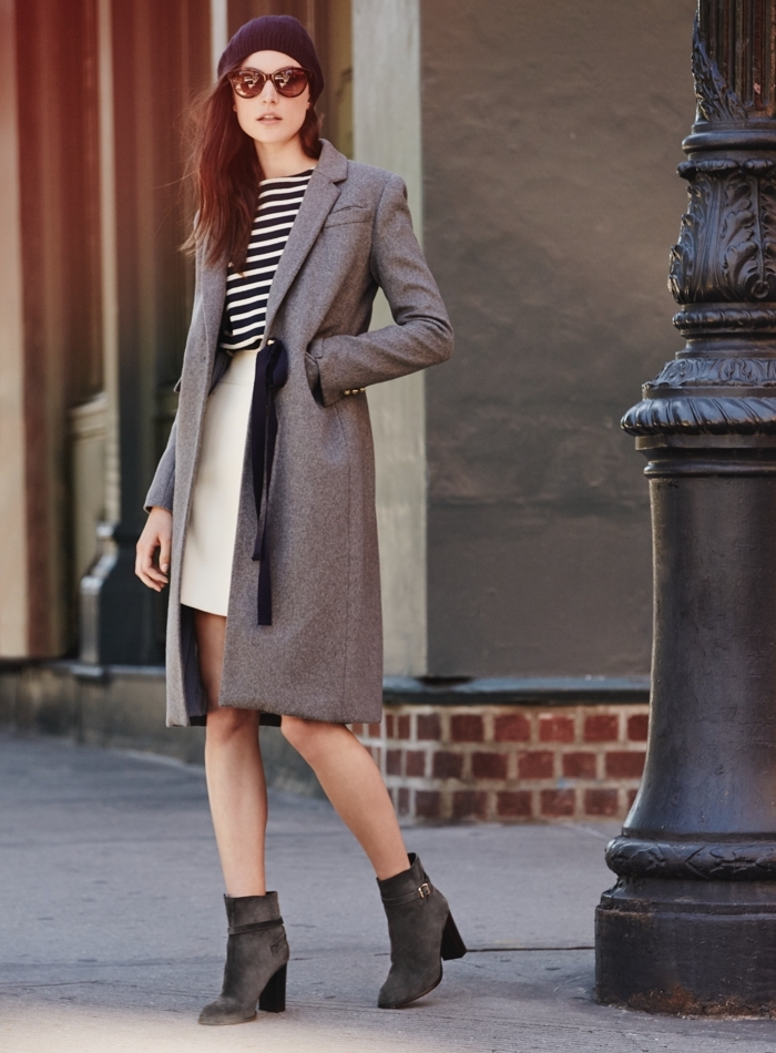 200cdb6d862 J.Crew Collection Olivia Topcoat With Grosgrain Ribbon