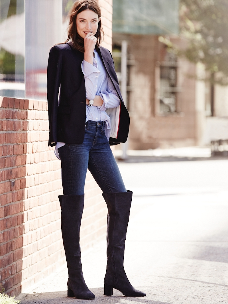 J.Crew Suede Over-The-Knee Boots