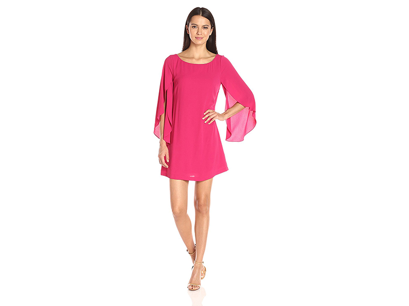 Jessica Simpson Flutter Sleeve Dress