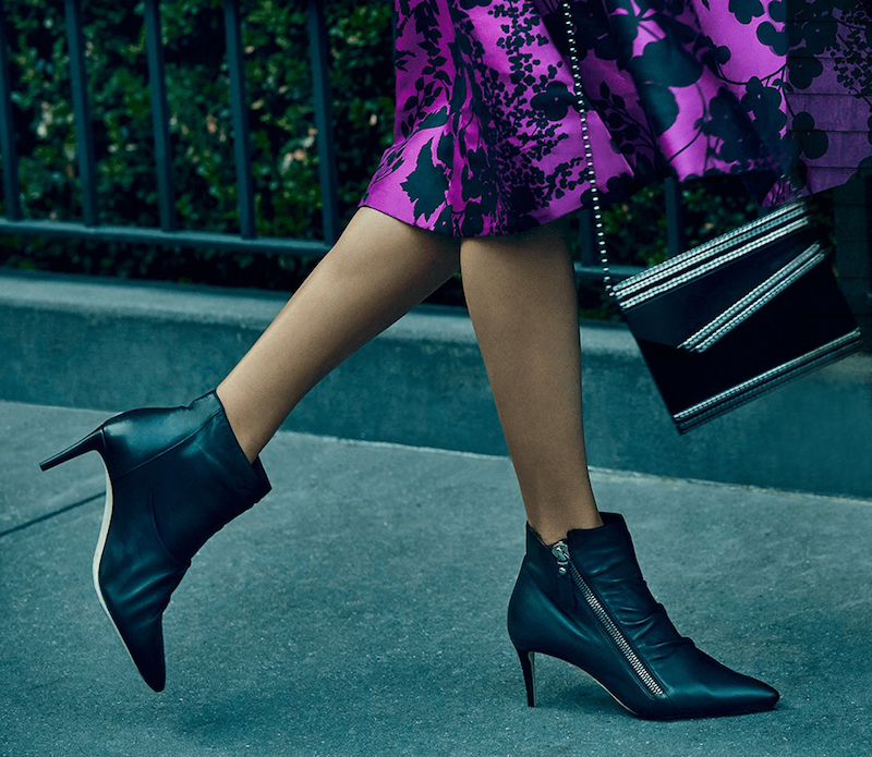 Jimmy Choo Dayton Leather Point-Toe Booties