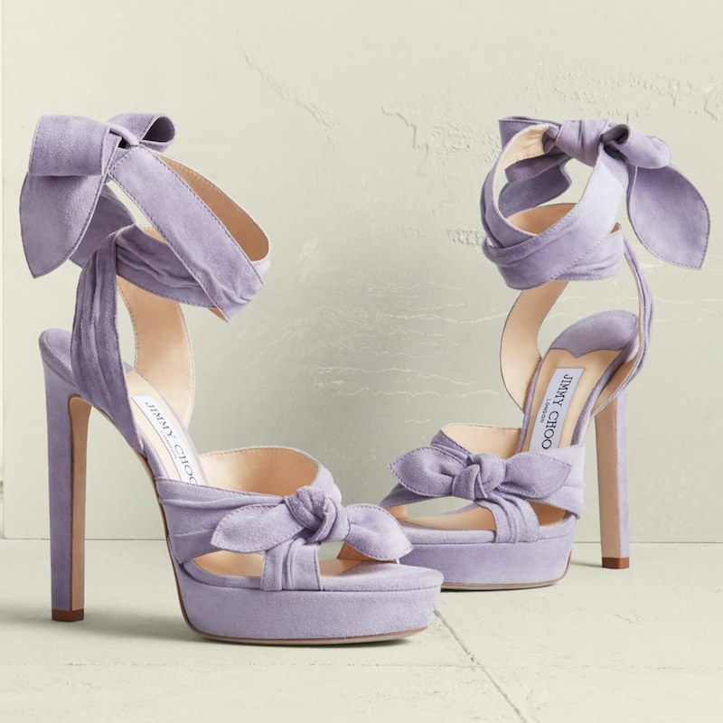 Jimmy Choo Vixen Wraparound Platform Sandal
