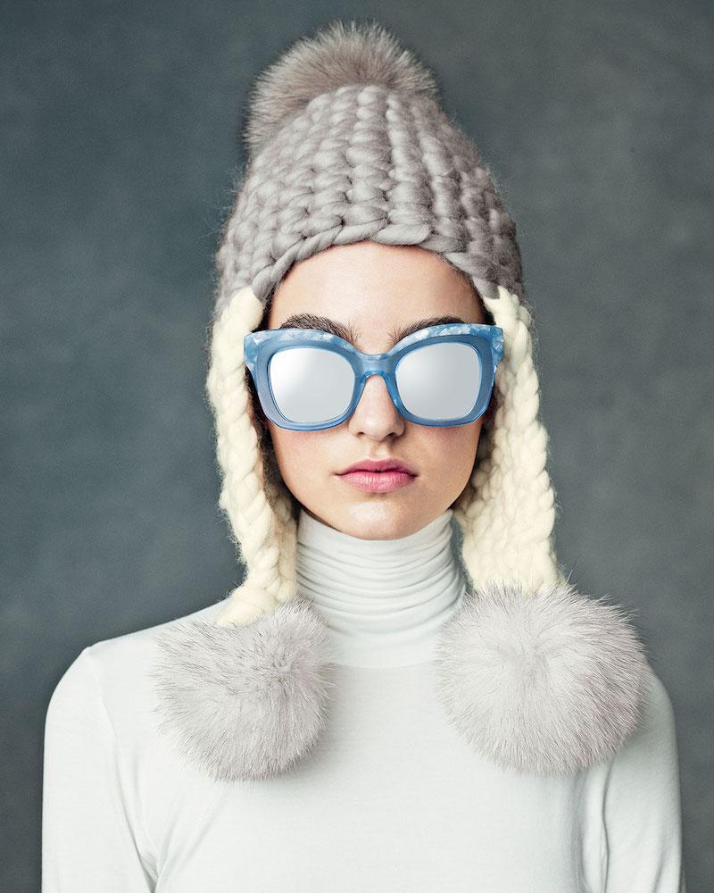 KREWE Dauphine Mirrored Flat-Lens Sunglasses