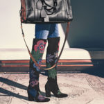 Laurence Dacade Embroidered Suede Over-The-Knee Boot