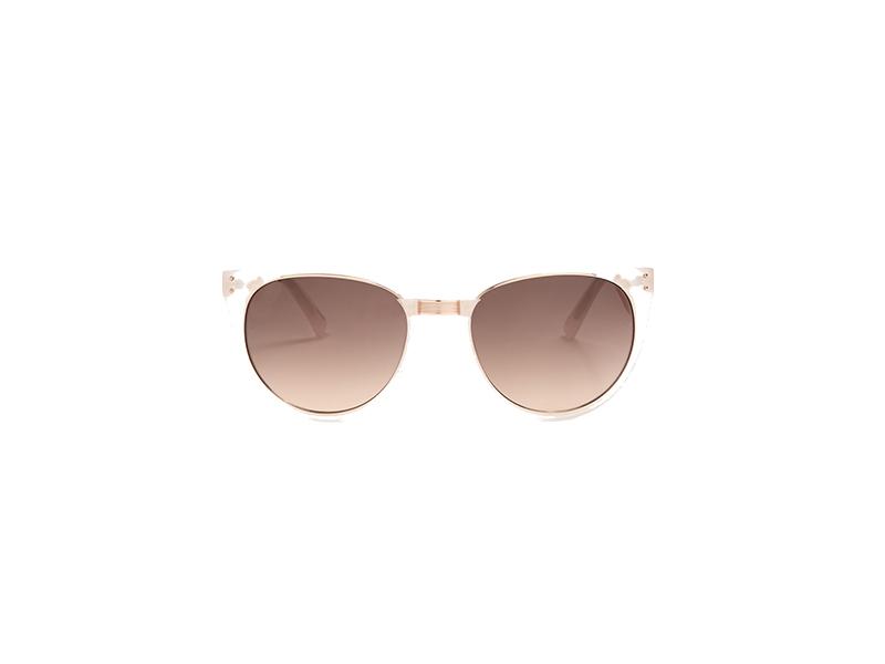 Linda Farrow Cat-Eye Acetate Sunglasses