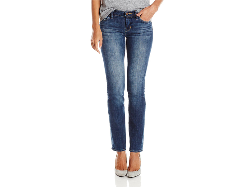 Lucky Brand Brooke Slim-Fit Bootcut Jean in Tanzanite