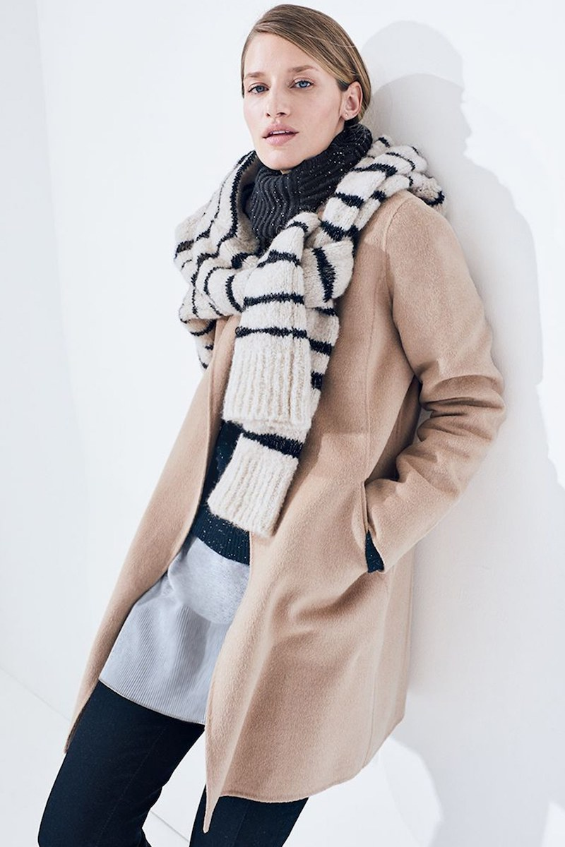 MICHAEL Michael Kors Double Face Wool Blend Coat