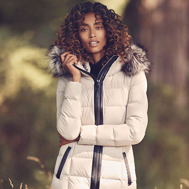 Mackage Calla Fitted Lightweight Down Jacket