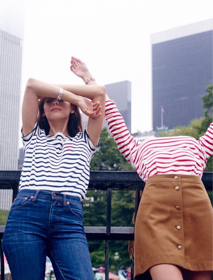 Madewell et SéZane Moi Avec Toi Short-Sleeve Tee