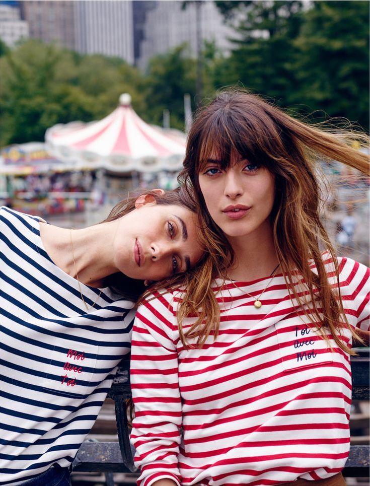 Madewell et SéZane Toi Avec Moi Long-Sleeve Tee