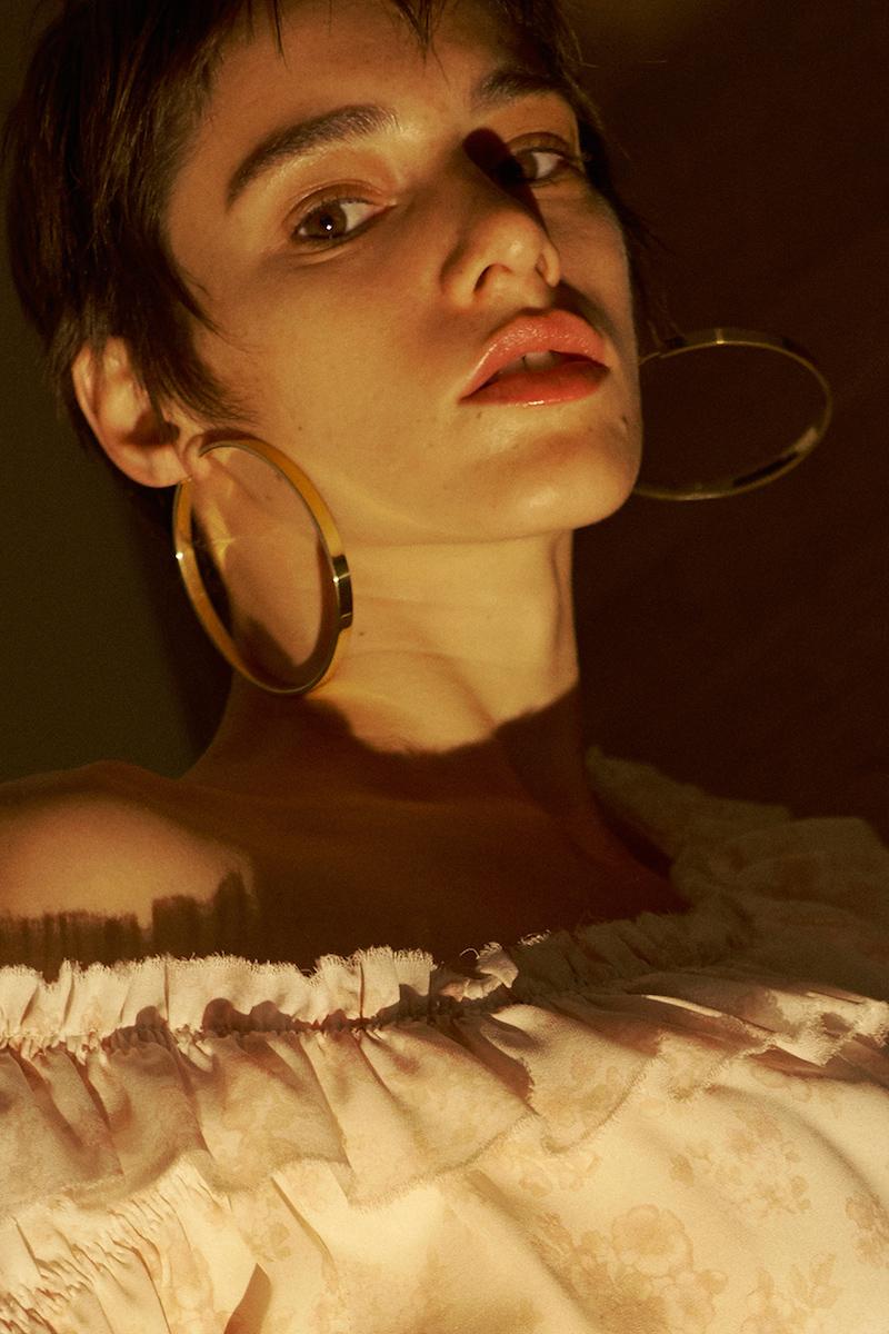Magda Butrym Medium Hoop Earrings