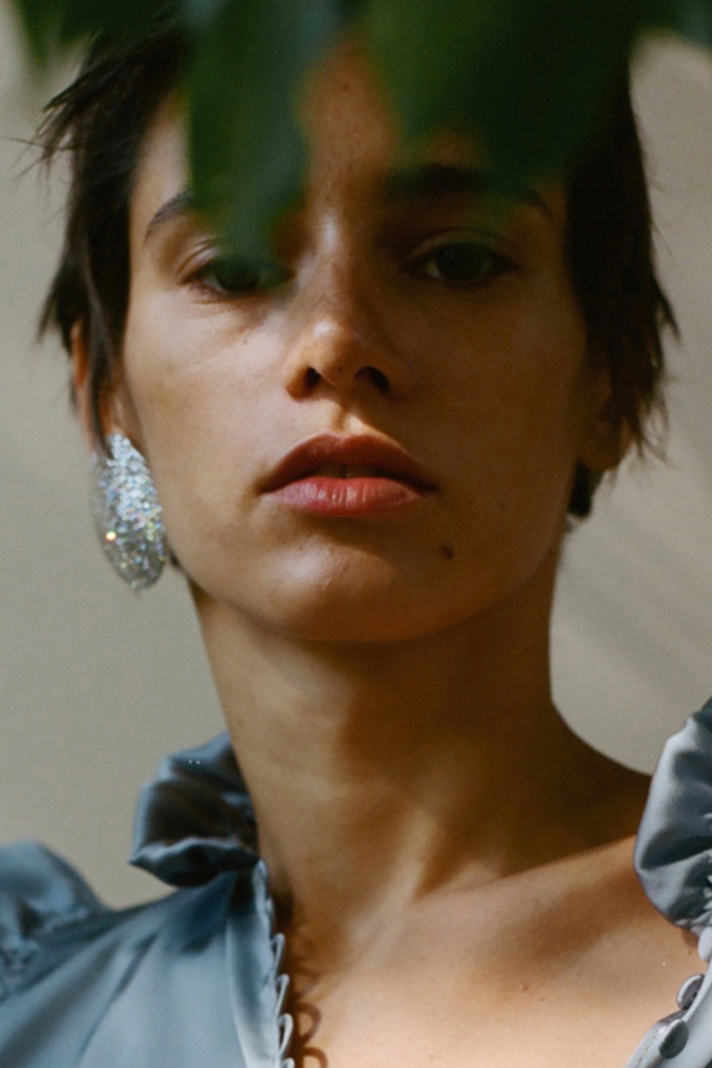 Magda Butrym Single Large Spherical Earring