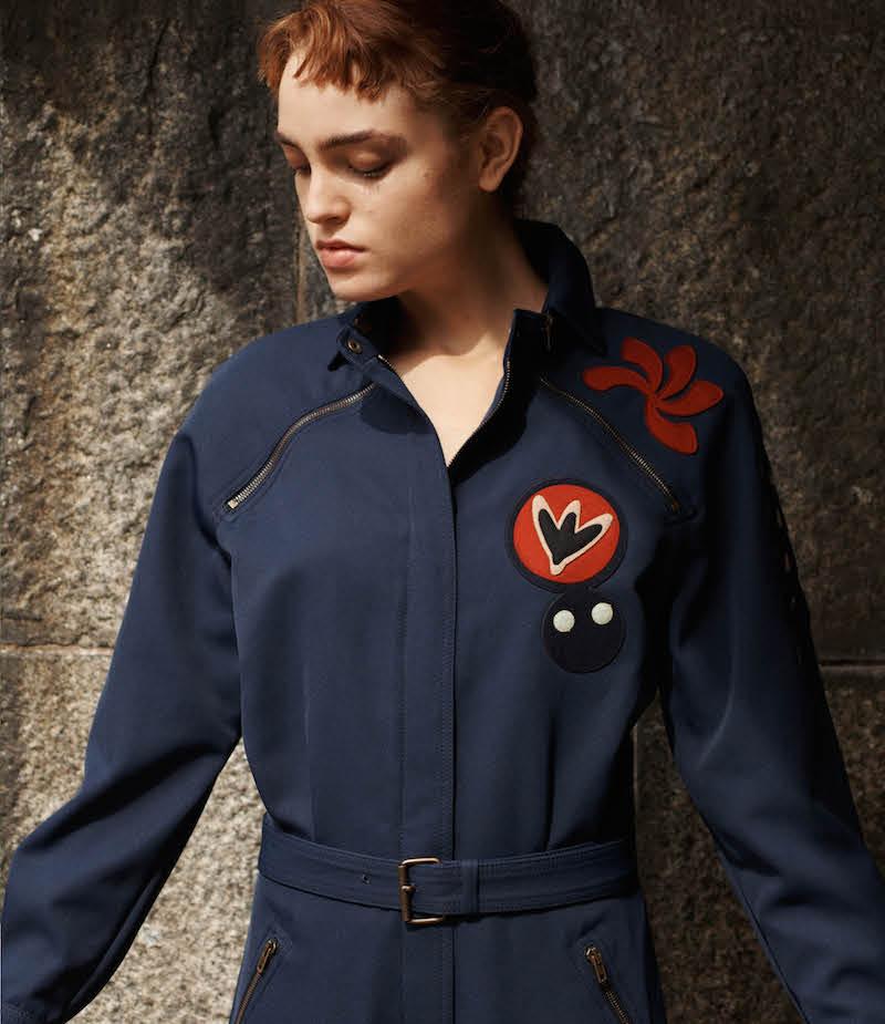 Maison Margiela Belted Zip-Front Jumpsuit
