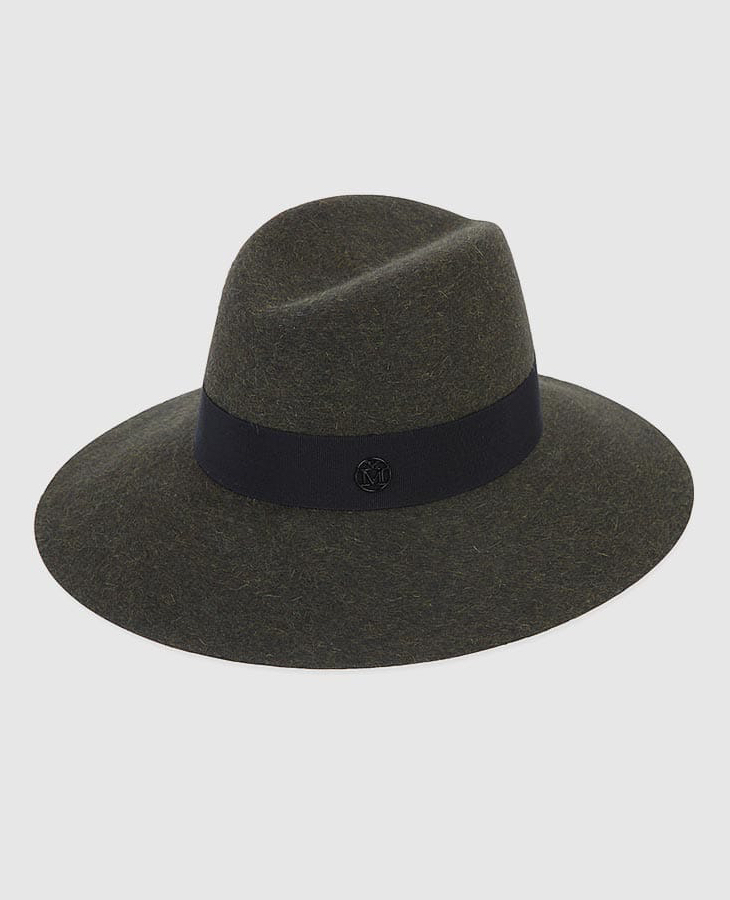 Maison Michel Kate Rabbit Fur Felt Fedora Hat
