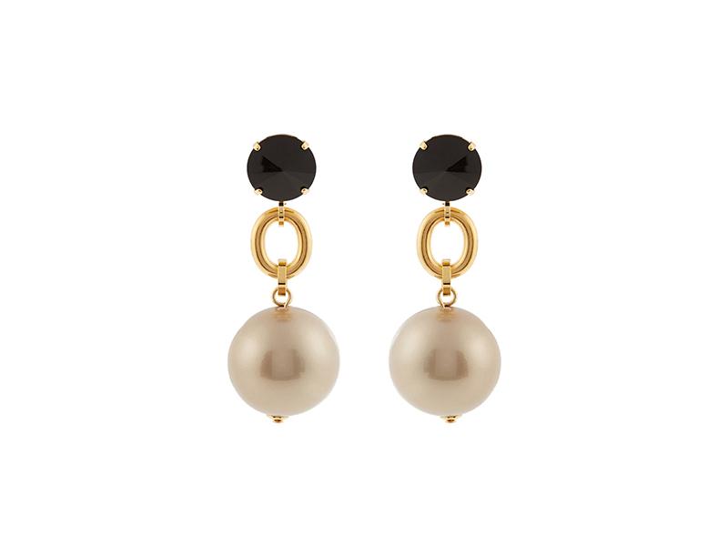 Marni Ball-Drop Clip-On Earrings