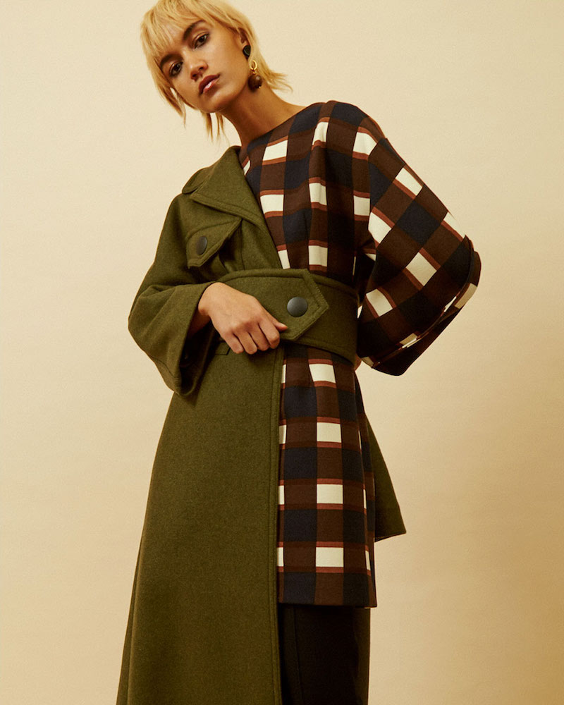 Marni Oversized Long Double-Faced Coat