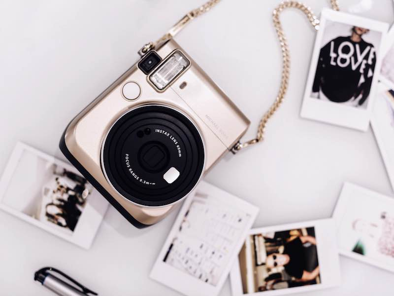 Michael Kors x FUJIFILM INSTAX Mini 70 Camera